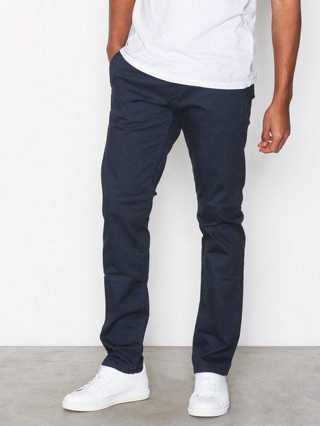 Selected Homme Slhstraight Paris Navy Pants W Noos Bukser Mørkeblå mand køb billigt