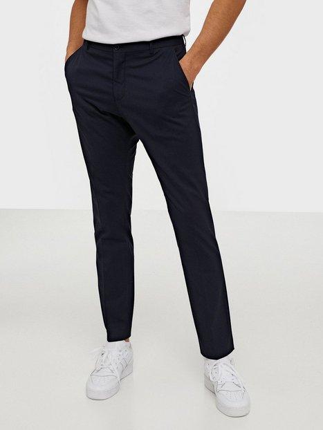 Selected Homme Slhslim Mylologan Navy Trouser B No Bukser Mørkeblå mand køb billigt