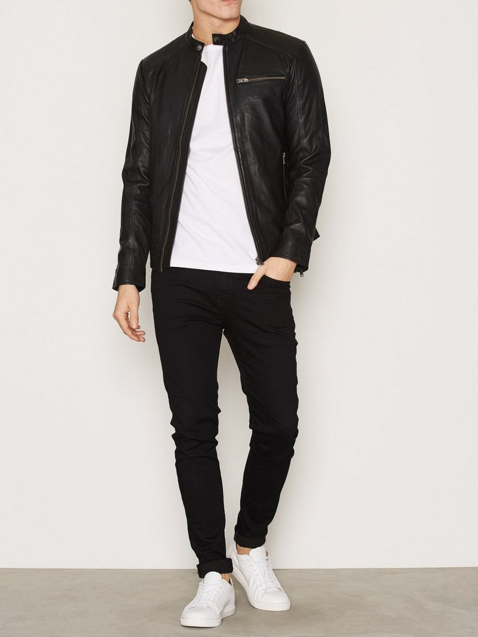 SHNNEW TYLOR LEATHER JKT NOOS