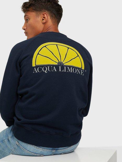 Acqua Limone College Classic Trøjer Dark Navy mand køb billigt