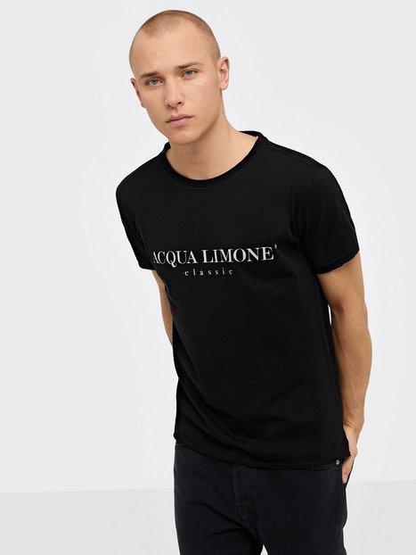 Acqua Limone T Shirt Classic T shirts undertrøjer Black - herre