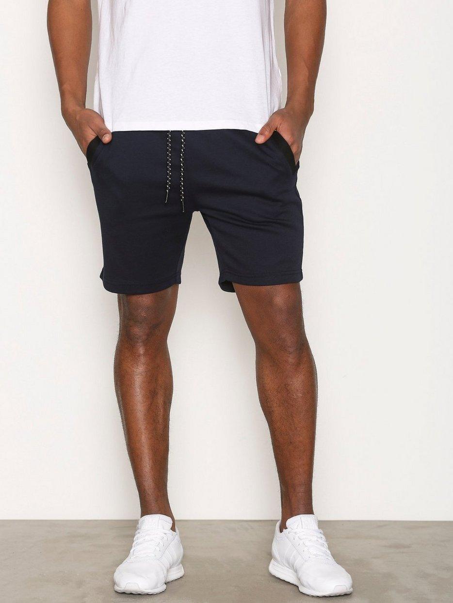 Jcojack Sweat Shorts - Jack & Jones - Dark Blue - Shorts ...