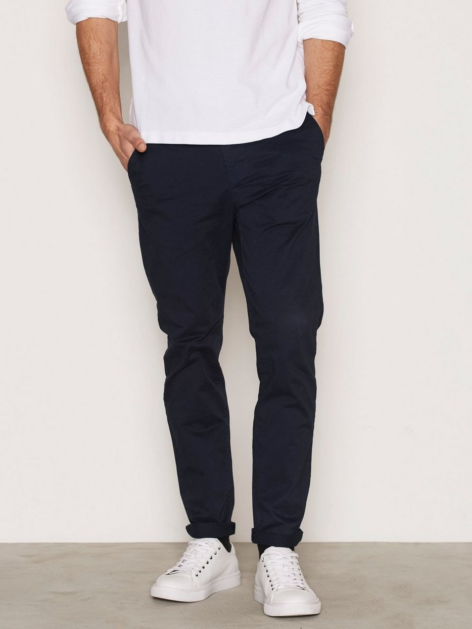 5473b03569 Jjimarco Jjenzo Navy Ww 420 Noos - Jack   Jones - Dark Blue - Pants ...