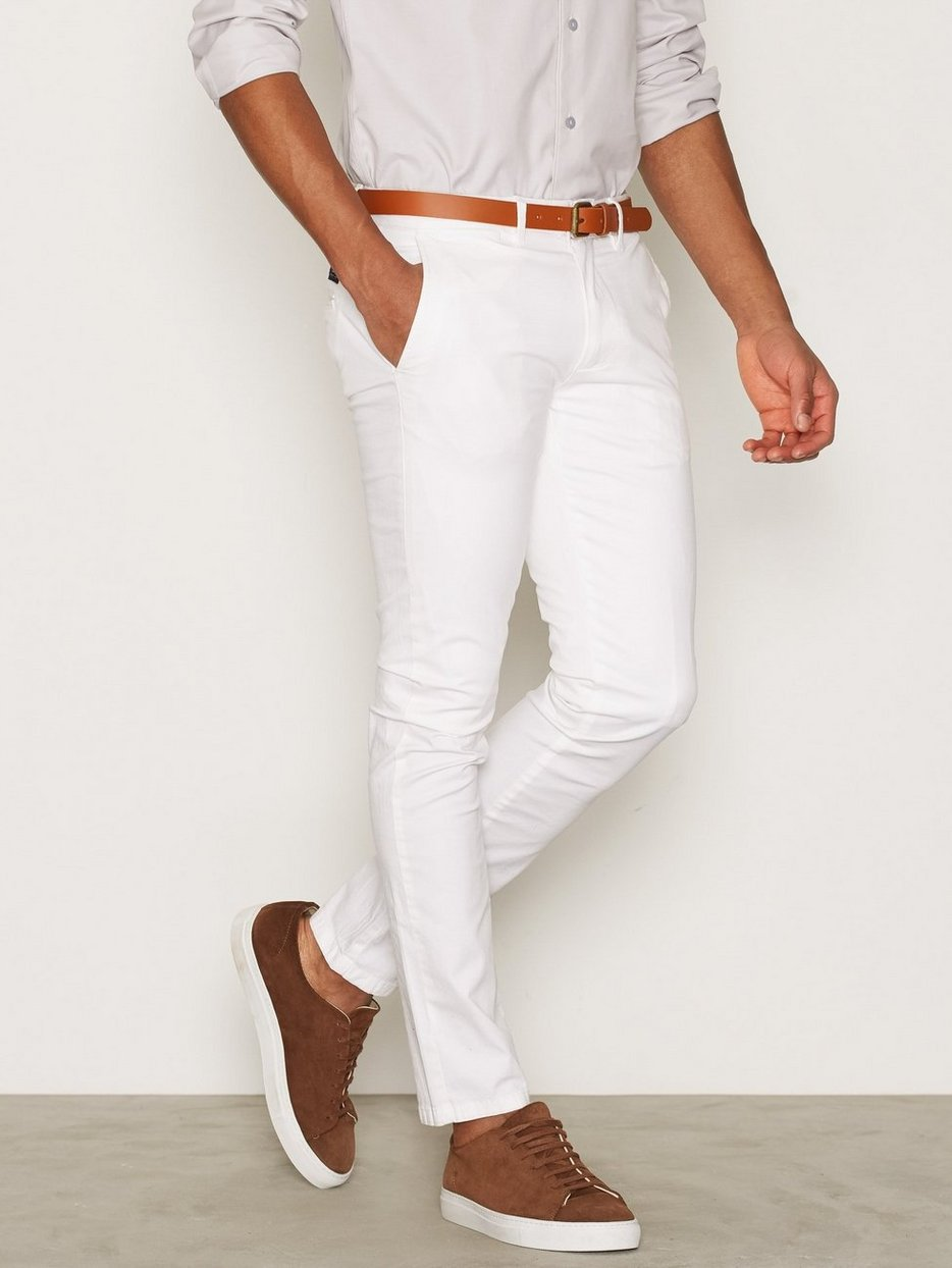 SHHYARD BRIGHT WHITE SLIM ST PANTS