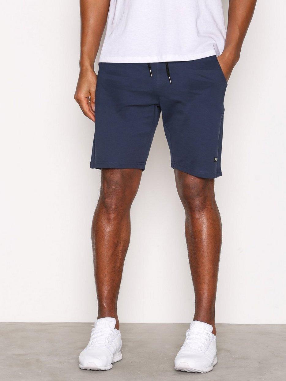 Onsgrigori Sweat Short - Only & Sons - Dark Blue - Shorts ...