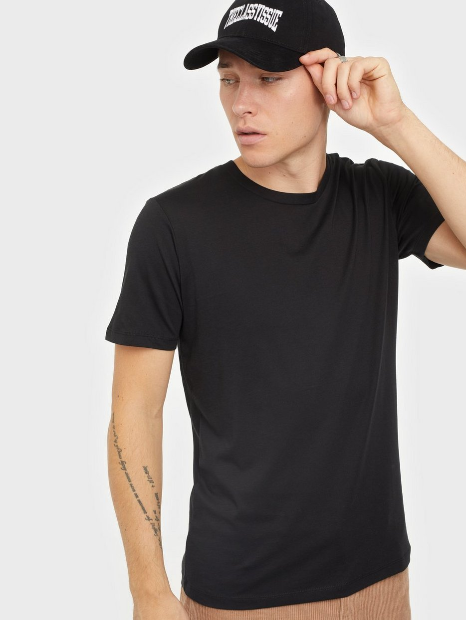 SLHTHEPERFECT SS O-NECK TEE B NOOS
