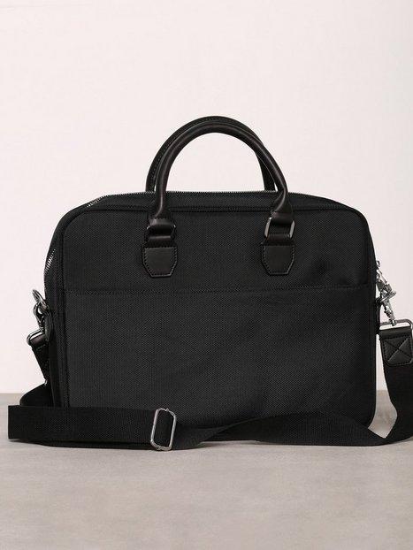 Steele & Borough Uptown laptop bag 13'' Väskor Black