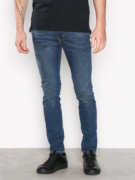 Selected Homme Shnskinny Pete 1004 M.Blue St Jns N Jeans Blå - herre