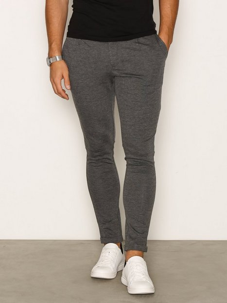 Only Sons onsSOLID Normal Chino Unlgm Noos PANT24 Avg Bukser Light Grey - herre