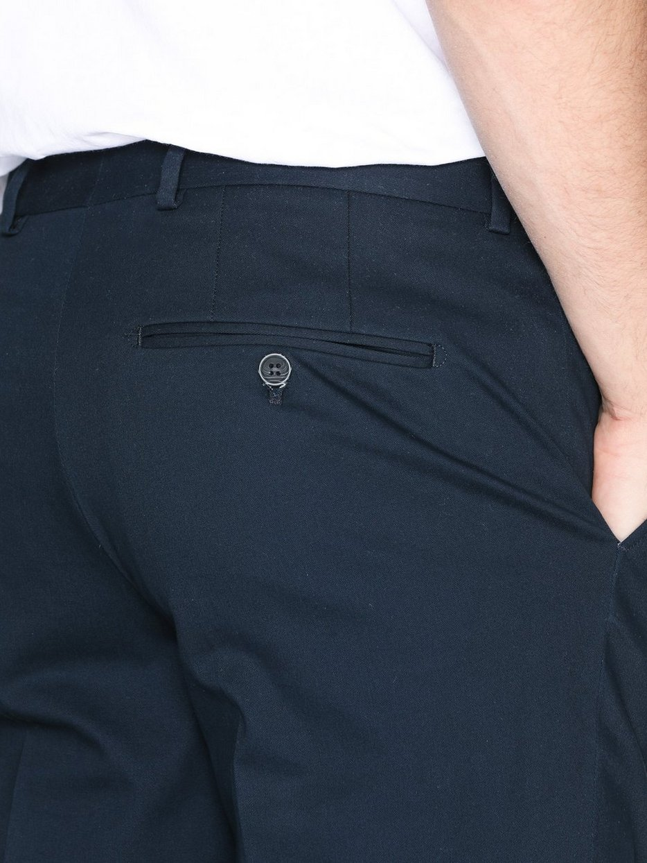 SLHSLIM-MATHCOT NAVY TROUSER NOOS