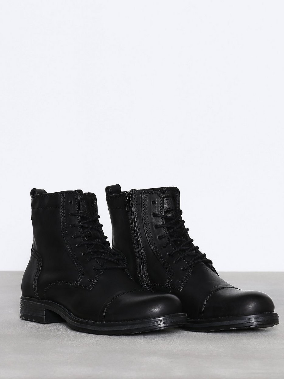 JFWRUSSEL LEATHER ANTHRACITE