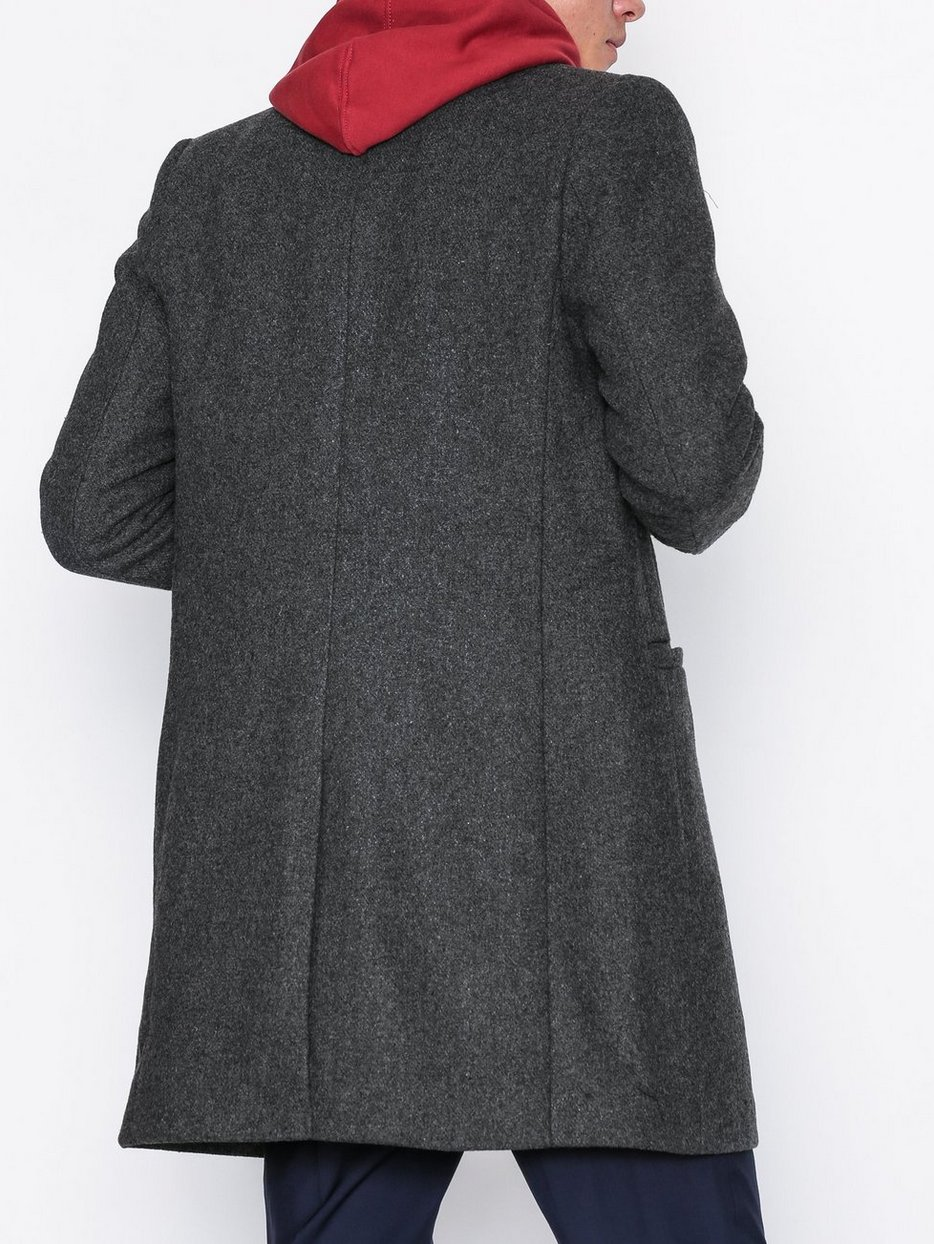 onsMAX WOOL TRENCH COAT EXP