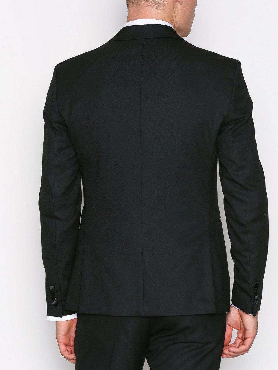 SHDONE-TUX PEAK2 BLACK BLAZER