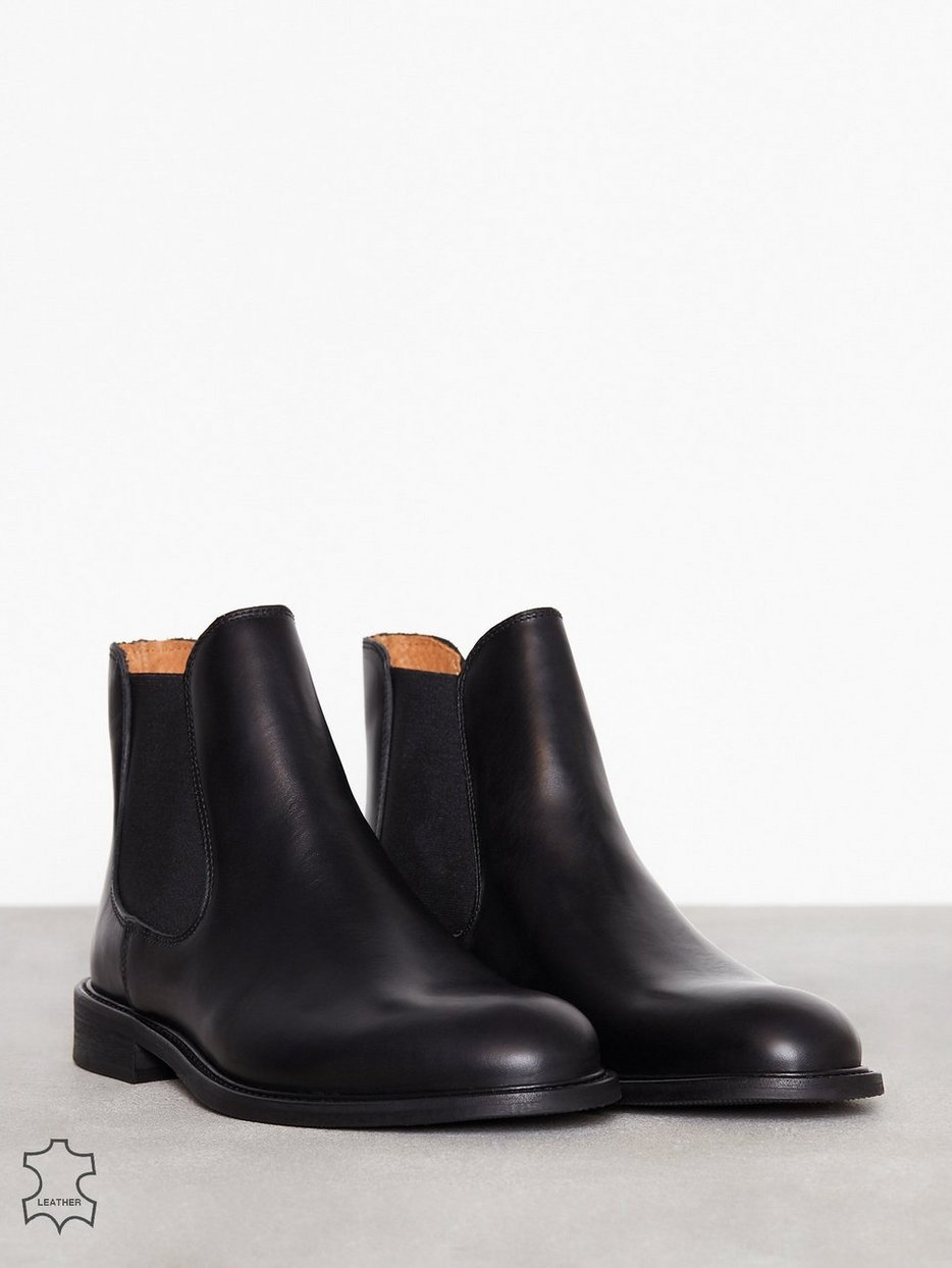 SLHBAXTER CHELSEA LEATHER BOOT B NO