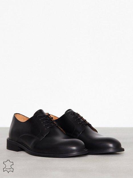 Selected Homme Slhbaxter Derby Leather Shoe B Noos Elegante sko Sort - herre