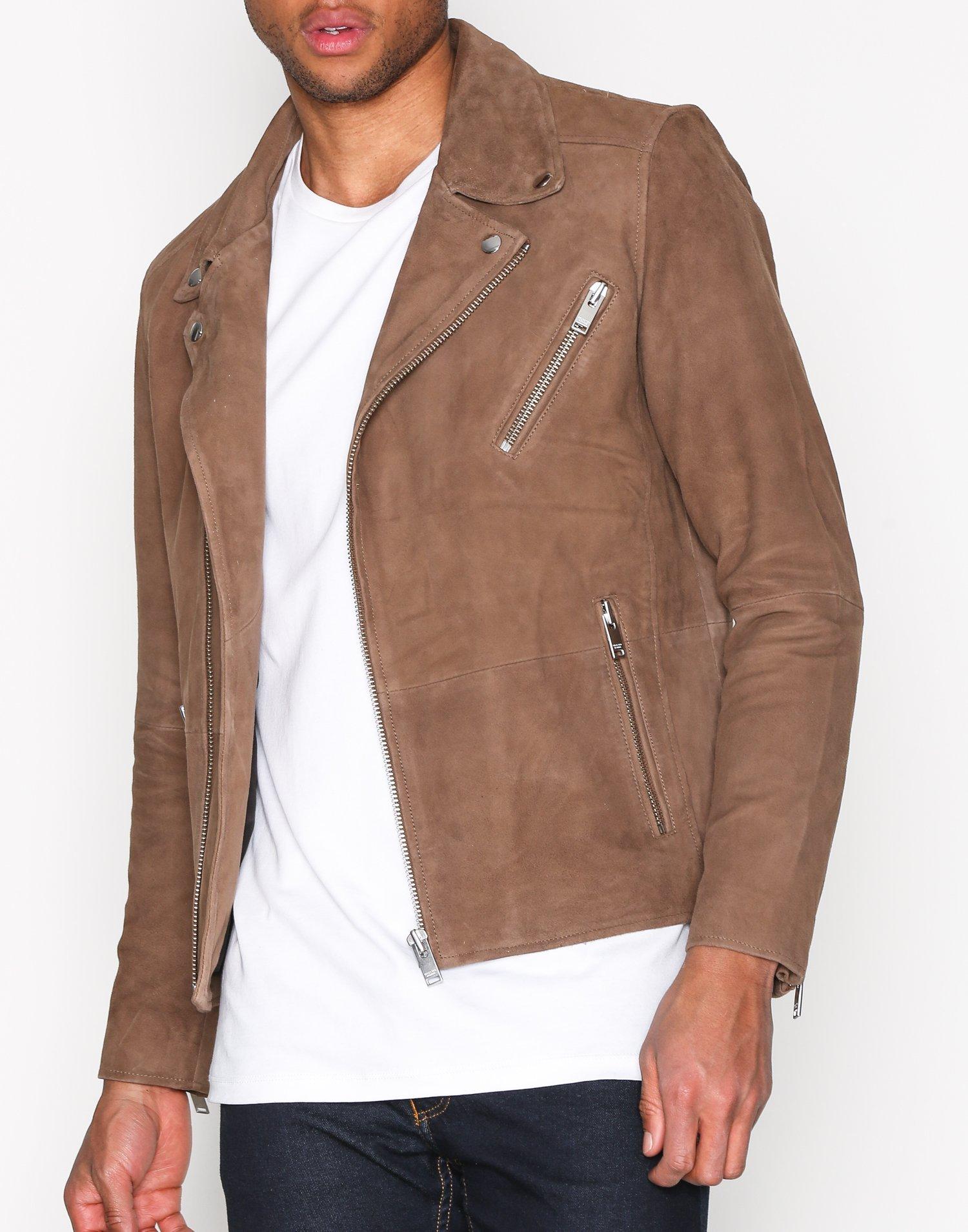 0c0c4c0908a02 Shnscott suede biker jacket selected homme dark brown jackets jpg 934x1244 Suede  biker jacket