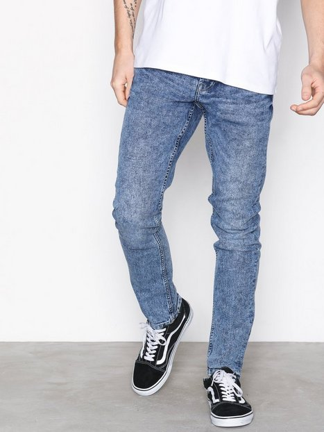 Only Sons onsLOOM Camp 327 Med Blue Exp Jeans Blå - herre