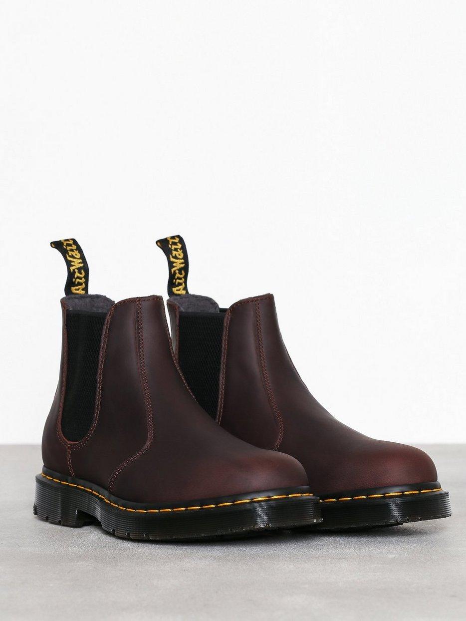 68d93dd040e Leather Boot - Dr Martens - Brown - Chelsea Boots - Shoes - Men ...