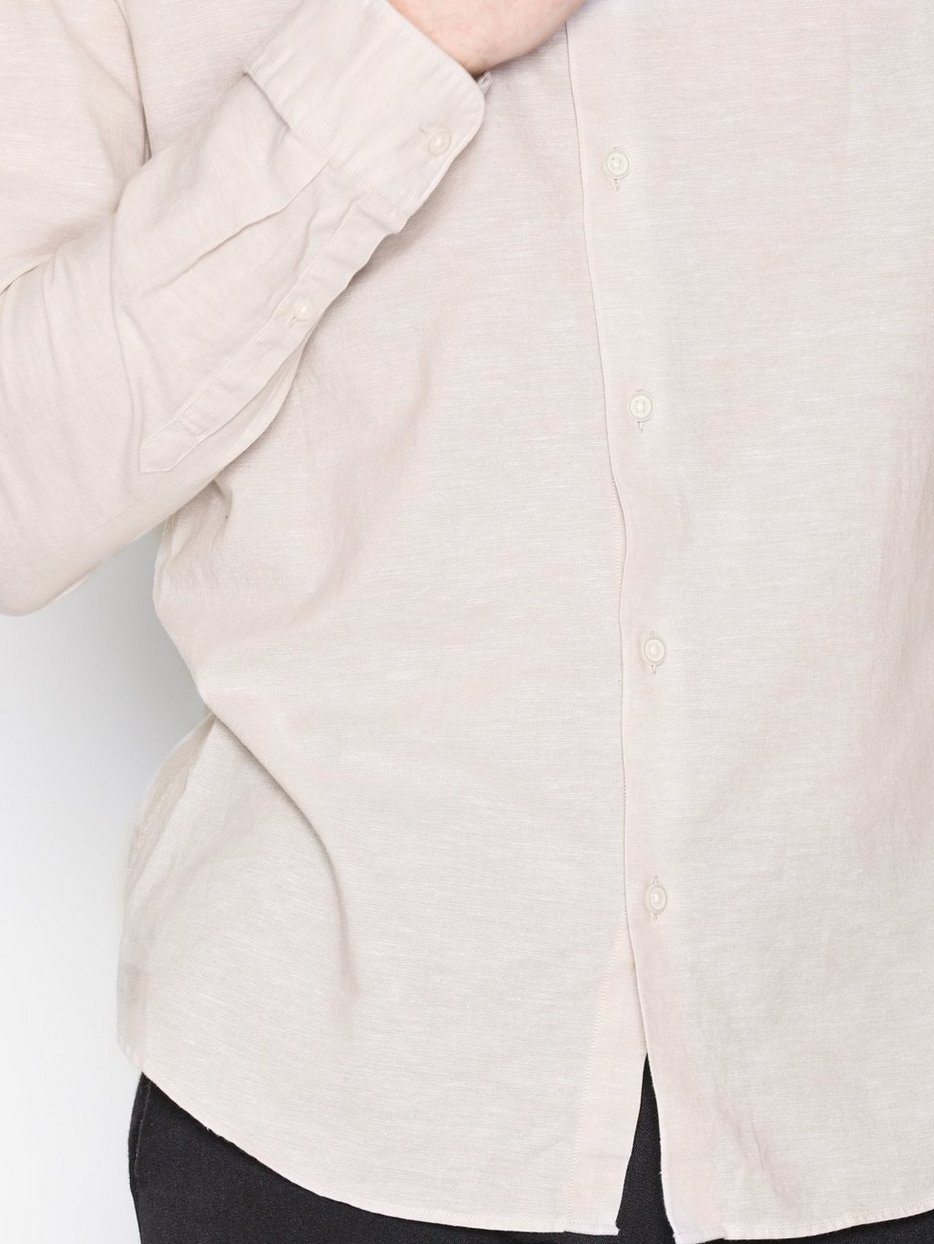SHDONESUMMER-LINEN SHIRT LS CHINA