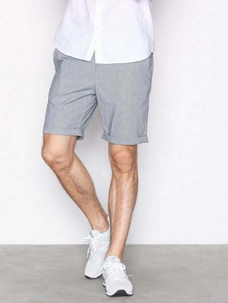 Selected Homme Shhparis L. Blue Stripe Reg St Shor Shorts Lyse Blå mand køb billigt
