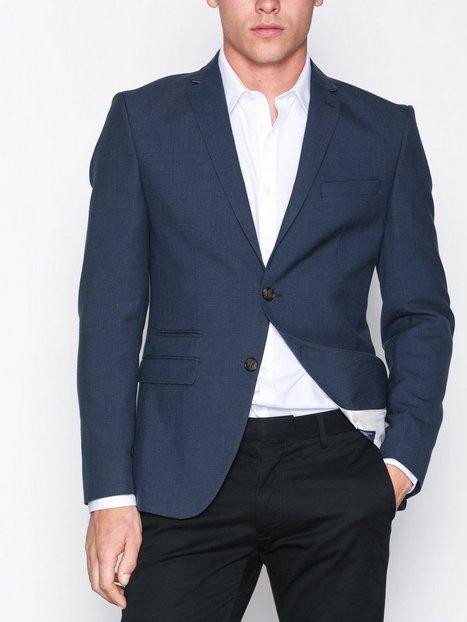 Selected Homme Shdone Buffalo Oasis Navy Blazer Blazere jakkesæt Mørkeblå mand køb billigt