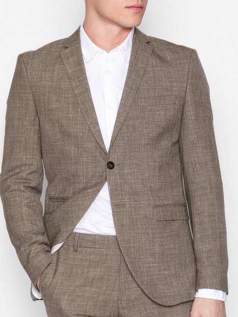 Selected Homme Shdone Buffalo Oasis Sand Blazer Blazere jakkesæt Lysebrun - herre