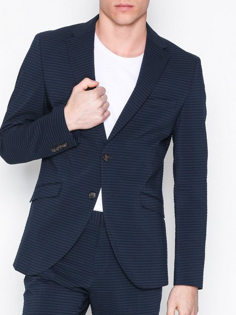 Selected Homme Shdone Taxolav Blazer Blazere jakkesæt Mørkeblå - herre