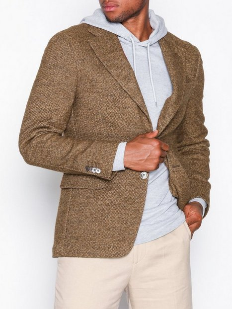 Oscar Jacobson Fellow Blazer Blazere jakkesæt Brun - herre