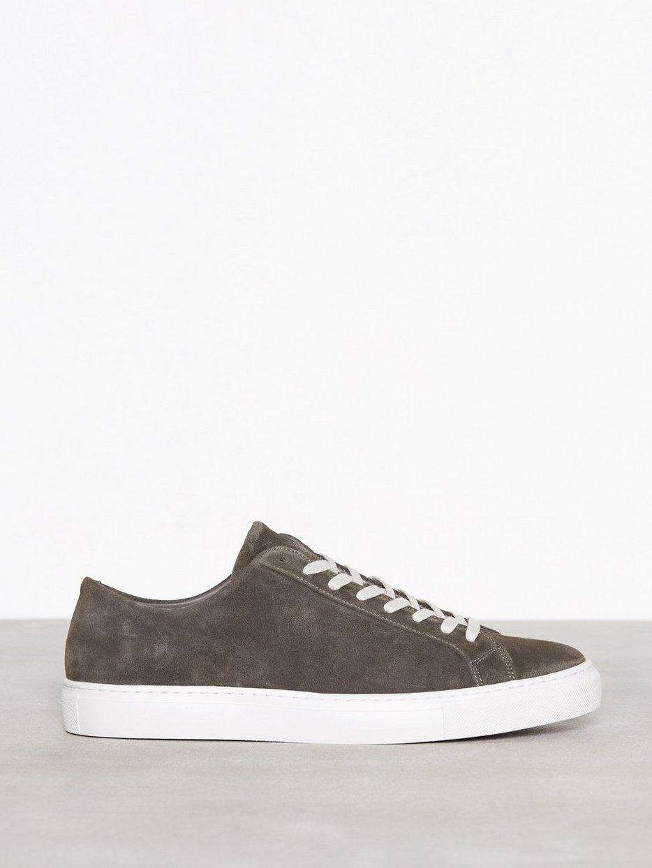 M. Morgan Low Suede Sneaker