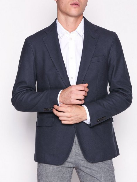 Polo Ralph Lauren M 2BN Uc Emb Sportcoat Blazere jakkesæt Navy - herre