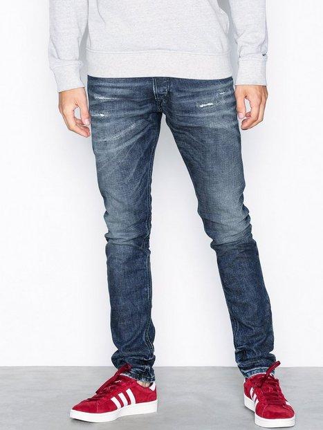 Diesel Tepphar Trousers Jeans Denim Blå - herre