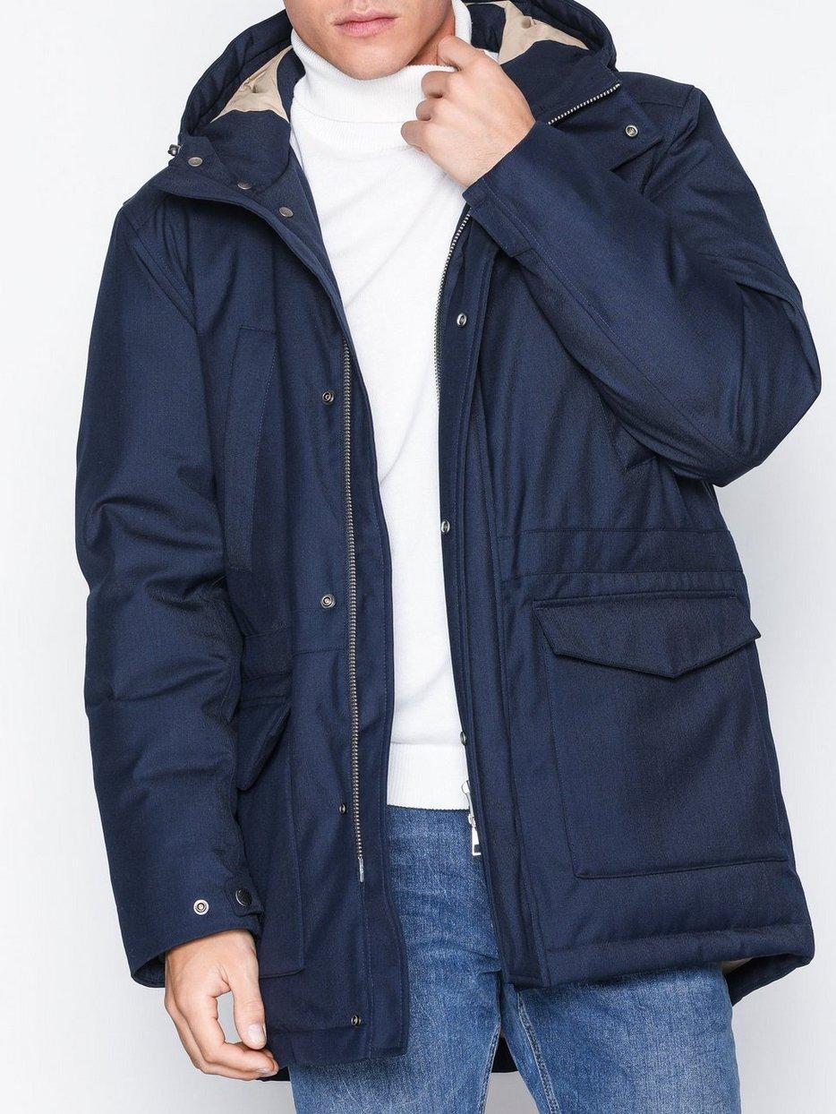 18c45cc500 The Down Parka - Gant - Marine - Jackets - Clothing - Men - NlyMan.com