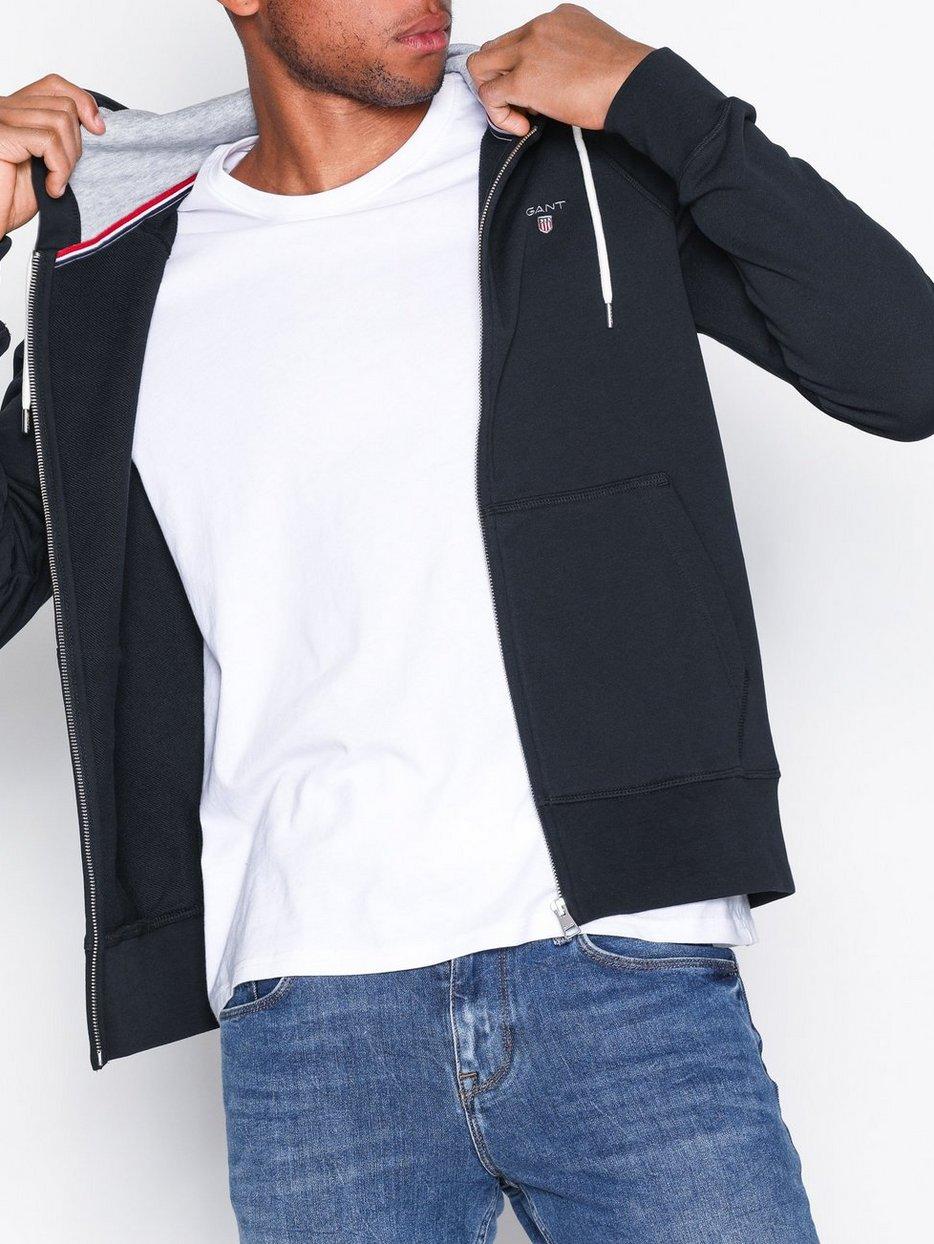 gant hoodie black