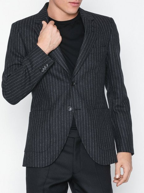 Tiger of Sweden Jamot Blazere jakkesæt Dark Grey Melange - herre