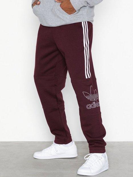 Adidas Originals Outline Pant Bukser Maroon mand køb billigt