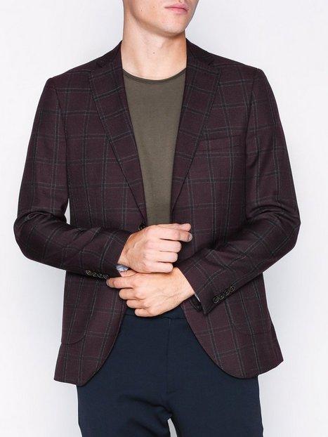 Selected Homme Slhslim Chasen Blazer B Blazere jakkesæt Mørklilla mand køb billigt