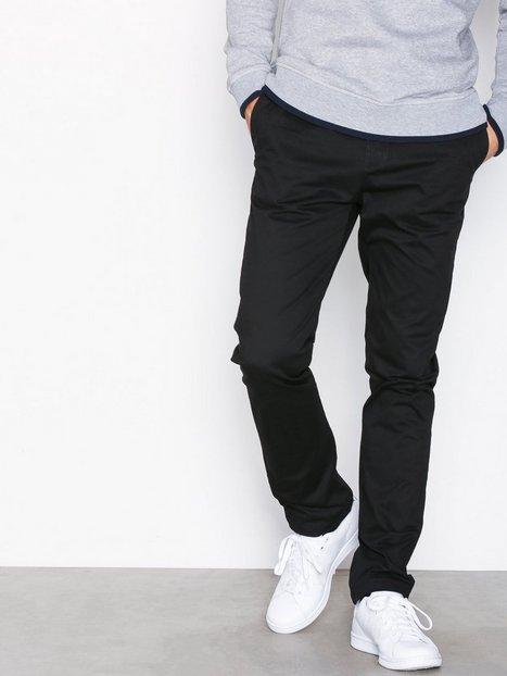 Suit Frank Chino Q6027 Bukser Sort - herre