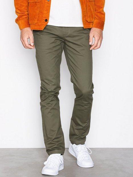 Suit Frank Chino Q6027 Bukser Mørkegrøn - herre