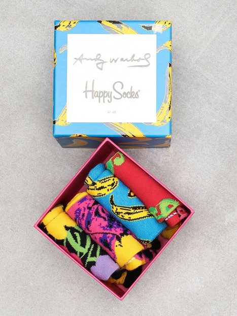 Happy Socks Andy Warhol Sock Box Set Strømper Multi - herre