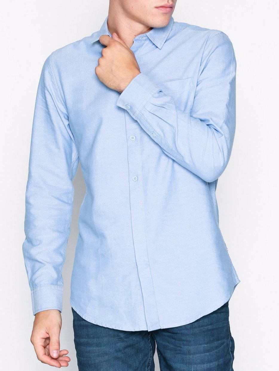 onsJAMES OXFORD CURVED SHIRT EXP