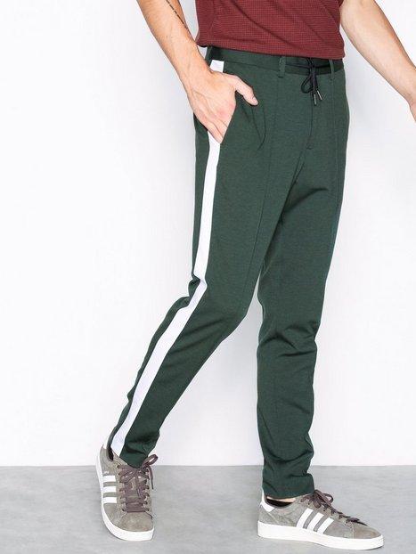 Selected Homme Slhspecial Gair Two Tone Pants B Ex Bukser Mørkegrøn mand køb billigt