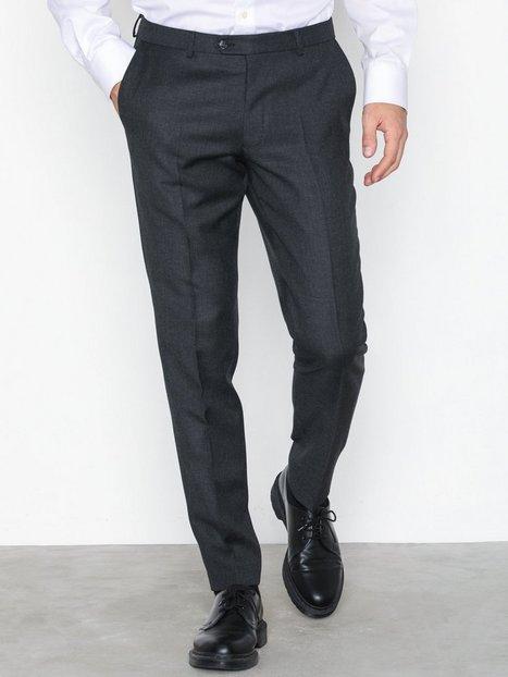 Oscar Jacobson Denz Trousers Bukser Dark Grey mand køb billigt