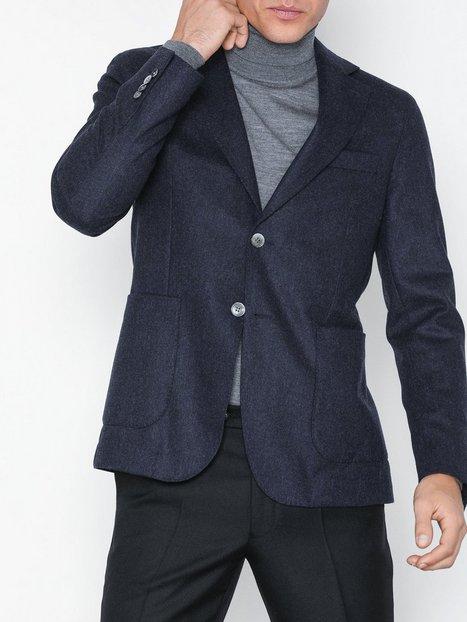 Oscar Jacobson Edgar Blazer Blazere jakkesæt Blue mand køb billigt