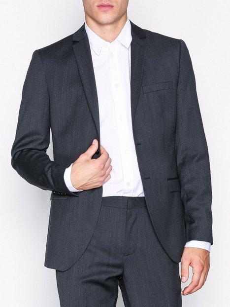 Selected Homme Slhslim Mylobill Grey Blz B Noos Blazere jakkesæt Grå - herre