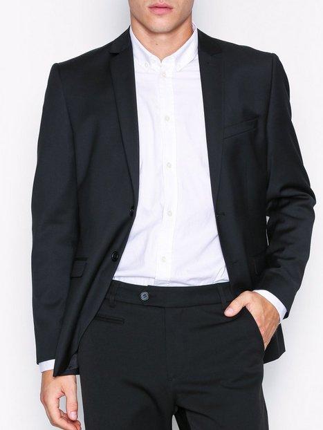Selected Homme Slhslim Mylobill Black Blz B Noos Blazere jakkesæt Sort - herre