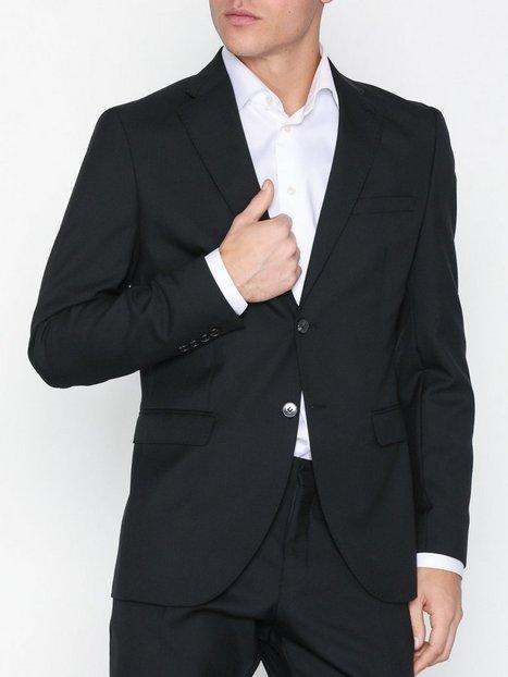 Selected Homme Slhslim Mylohigh Black Blz B Noos Blazere jakkesæt Sort - herre