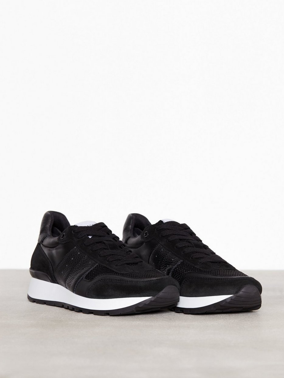 Selected HommeSLHFRANK MIX RUNNER NOOS - Trainers - black 11B2rP