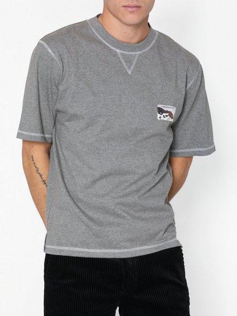 L'Homme Rouge Climber T Shirt T shirts undertrøjer Light Grey Melange mand køb billigt