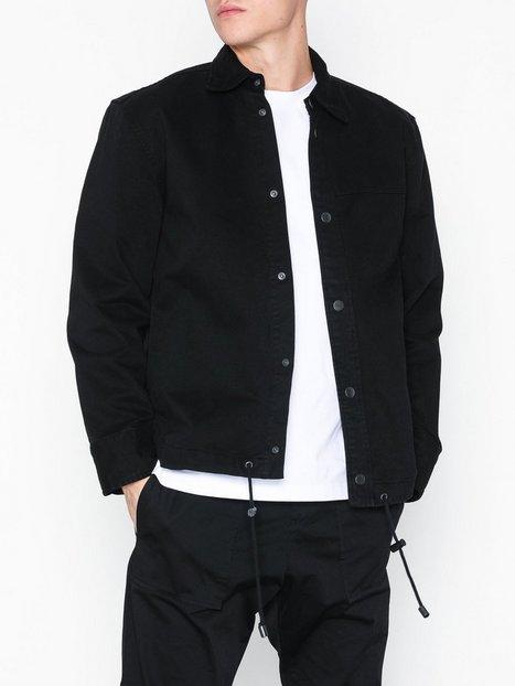 L'Homme Rouge Pull Jacket Jakker frakker Washed Black mand køb billigt