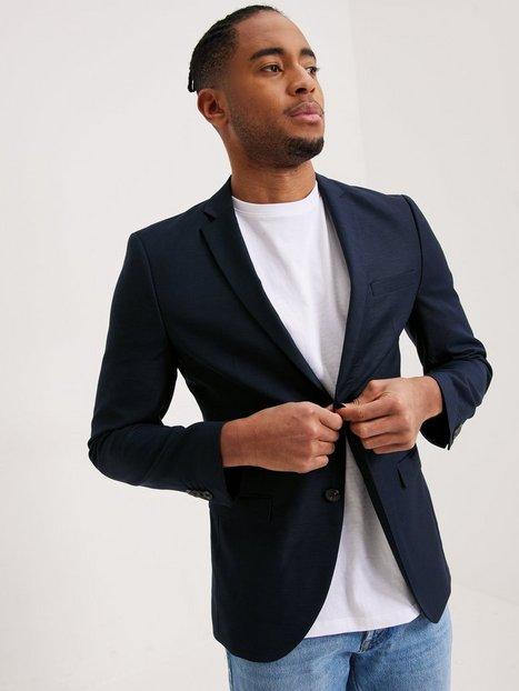Premium by Jack Jones Jprsolaris Blazer Noos Blazere jakkesæt Navy mand køb billigt